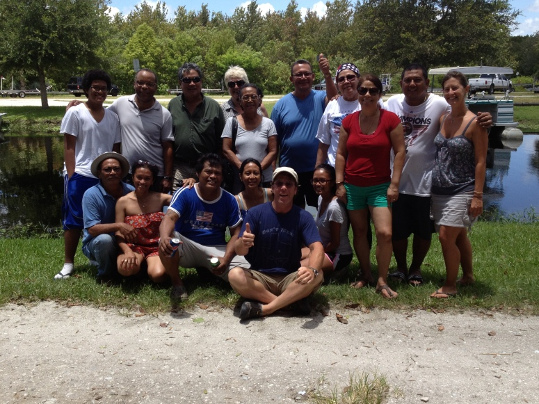Our new friends from Suriname!